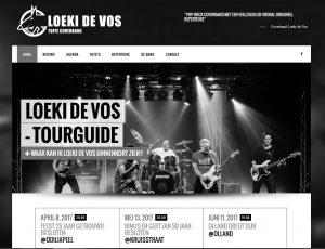 Nieuwe site voor Loeki de Vos