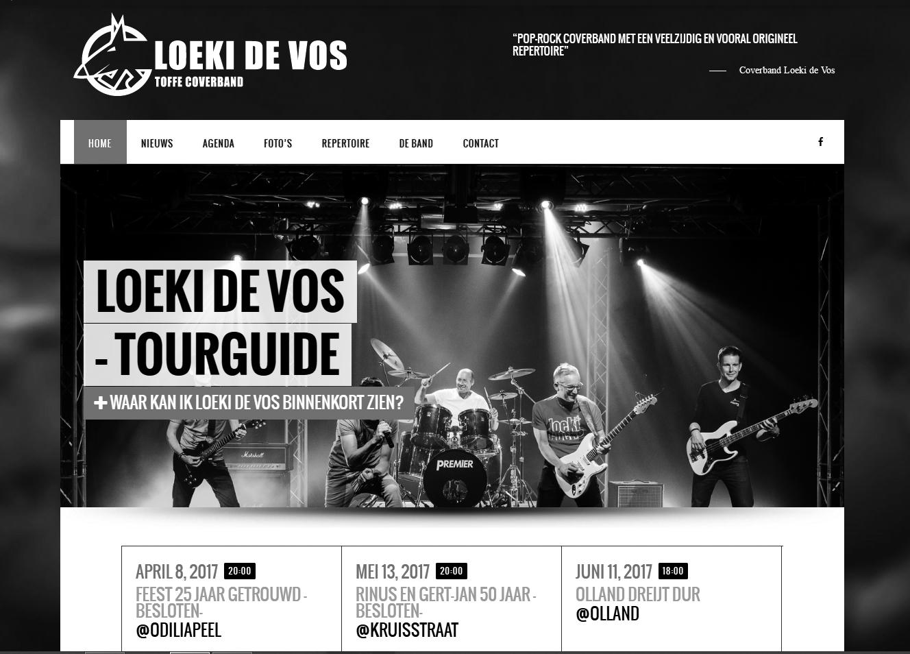 loekidevoscoverbandnieuwewebsite
